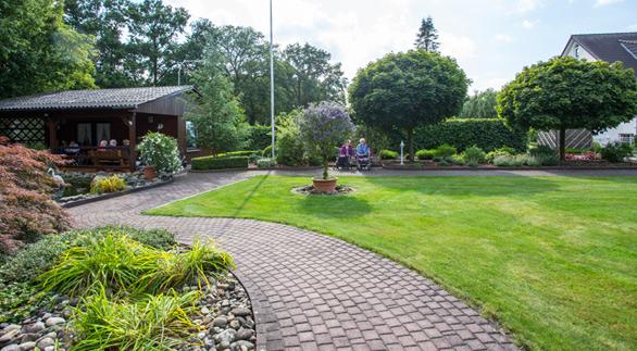 Parkanlage Seniorenheim