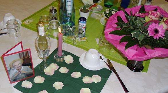 Service im Seniorenheim